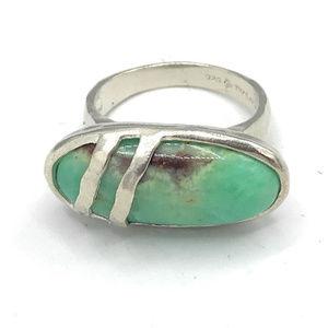R2864 Silpada Sterling MINTYFRESH Ring Size 7,8, 9